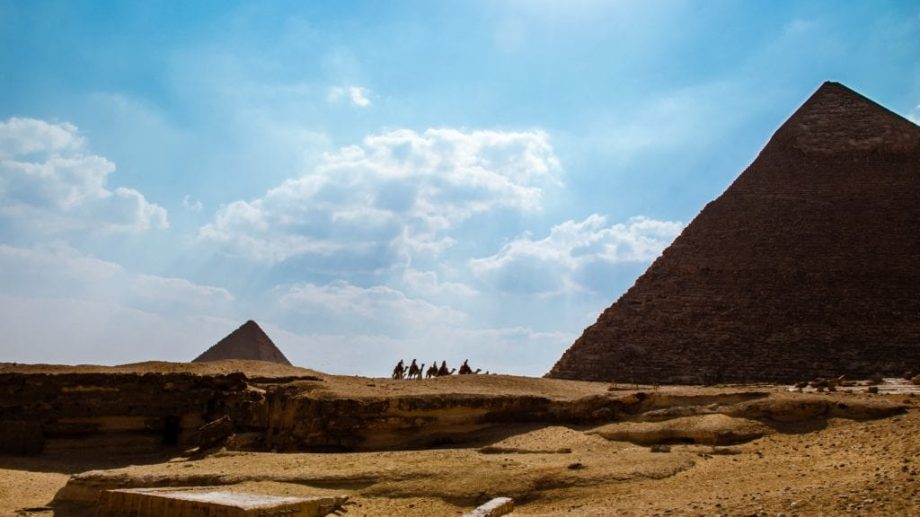 Pyramids Of Giza And Their Mysterious Relation With Orion