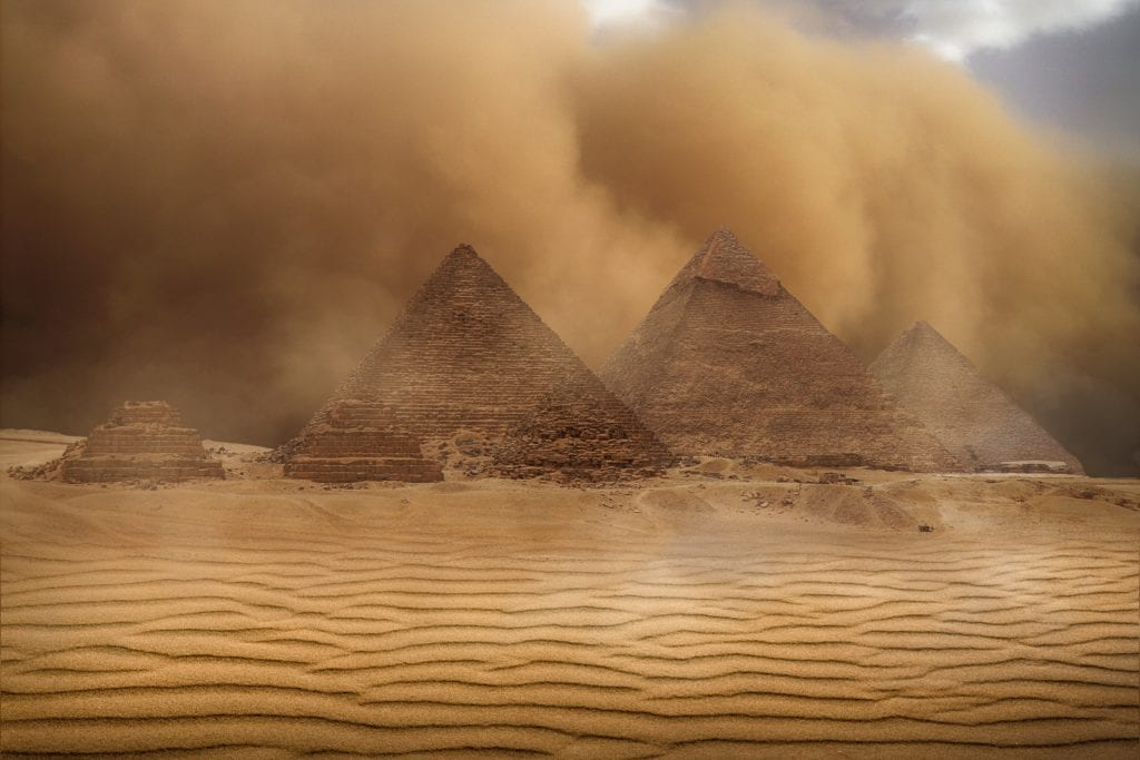 Great Pyramid And Its Hidden Chambers: Cosmic Ray Particles
